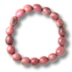 Rhodonite - Bracelet pépites de 10 mm