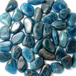 Gravier d'apatite bleue - Calibre 15-20 mm