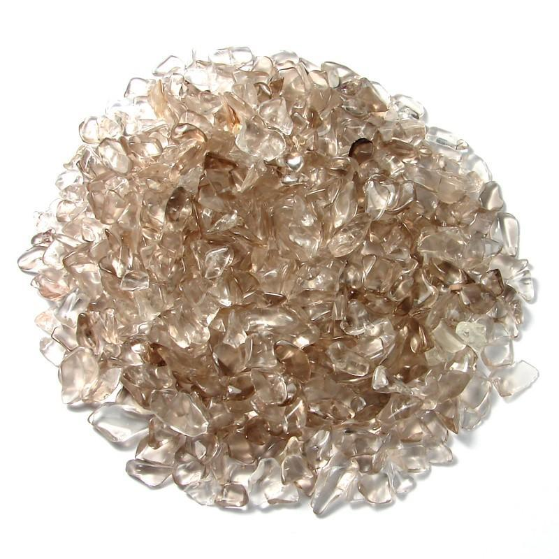 Gravier de quartz fumé. Calibre 5- 8 mm