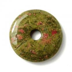 Donut en unakite - 30 mm