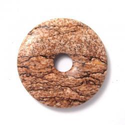 Donut en jaspe paysage - 30 mm