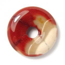 Donut en mokaïte - 30 mm