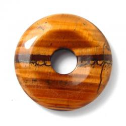 Donut en oeil de tigre - 30 mm