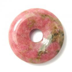 Donut en rhodonite - 30 mm