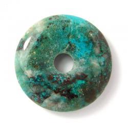 Donut en chrysocolle - 30 mm