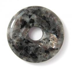 Donut en larvikite - 30 mm
