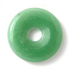 Donut en aventurine verte - 30 mm