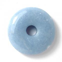 Donut en angélite - 30 mm