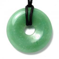 Donut en aventurine verte - 40 mm