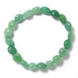 Aventurine verte - Bracelet pépite 8 x 10 mm