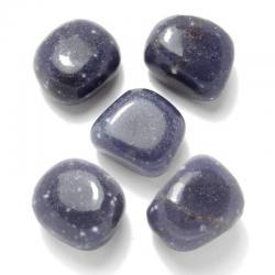 Lépidolite bleue - Pierres roulées