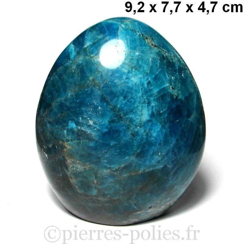 Apatite bleue de Madagascar - Forme libre polie