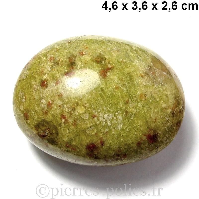 Opale verte de Madagascar - Galet n°4