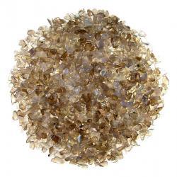 Gravier d'agate grise. Calibre 3-5 mm