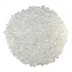 Gravier de cristal de roche. Calibre 3- 5 mm