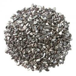 Gravier d'hématite. Calibre 3 - 5 mm