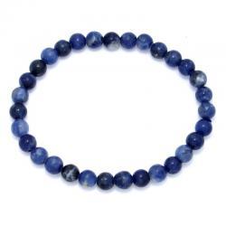 Sodalite - Bracelet boules 6 mm - Qualité A