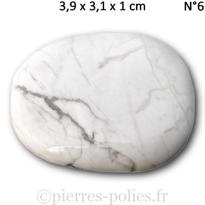 Pierres plates en magnésite du Zimbabwe.