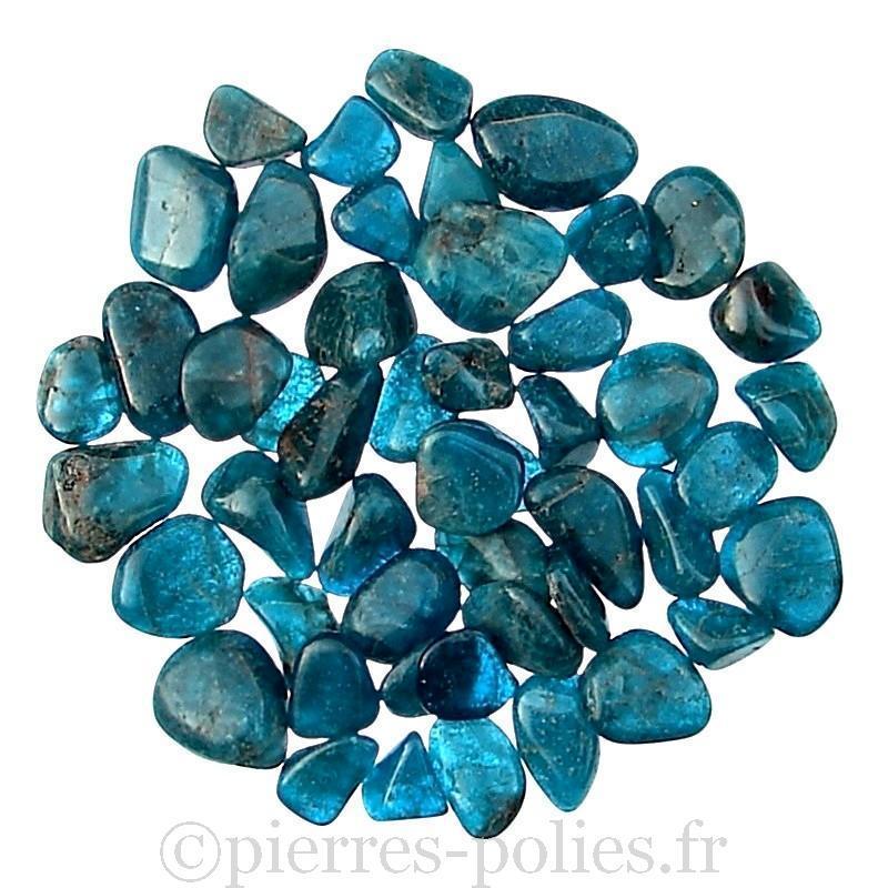 Gravier d'apatite bleue - Calibre 8-15 mm