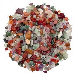 Gravier de minéraux d'Inde. Calibre 3-7 mm