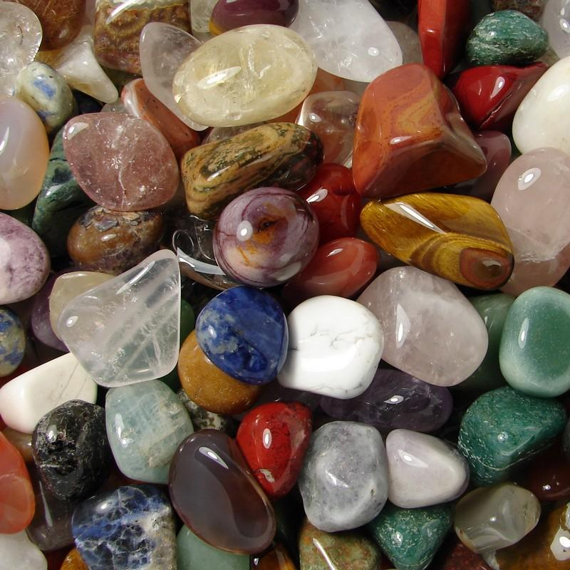 Mélange de pierres roulées polies - 15 - 25 mm